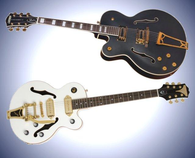 Guitars, Basses, Banjos