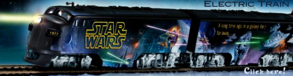 Star Wars Electric Train
