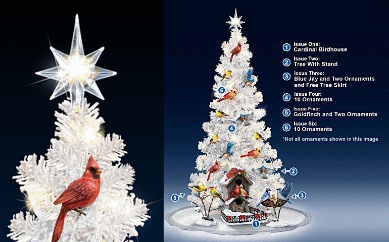 Backyard Splendor Songbird Christmas Tree Collection