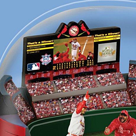 MLB St. Louis Cardinals World Series Signature Moment Sculpture