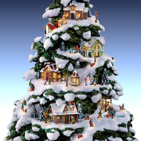 Christmas Village Collections Trees Peanuts Elvis And