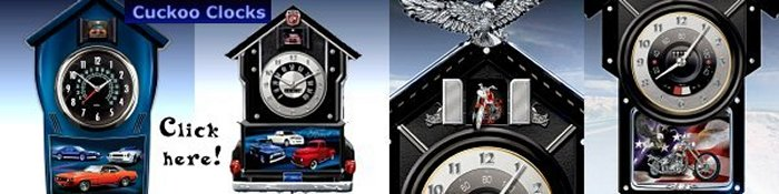 Cuckoo Clocks - Cars and Choppers
