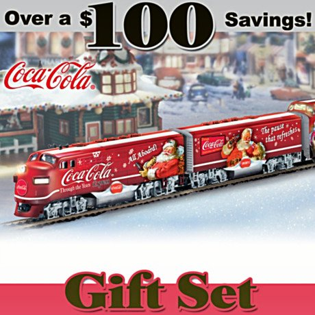 COCA-COLA Through The Years Express Electric Train Set