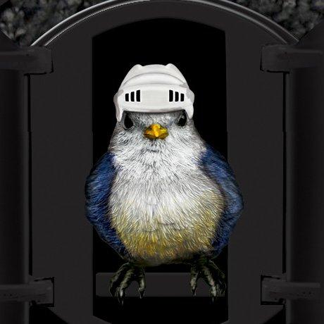 Chicago Blackhawks Cuckoo Clock - the Cuckoo
