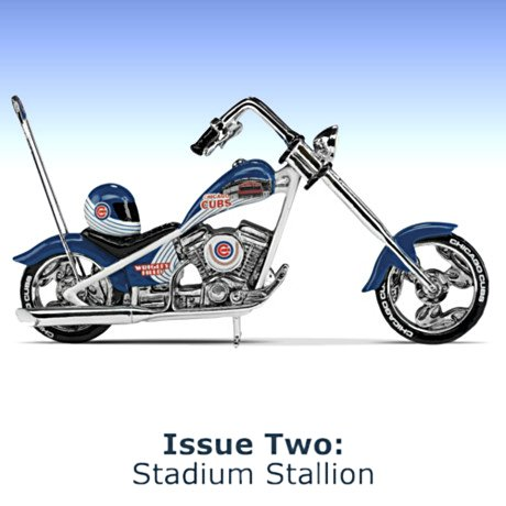 MLB Chicago Cubs Motorcycle Figurine Collection - Issue 2