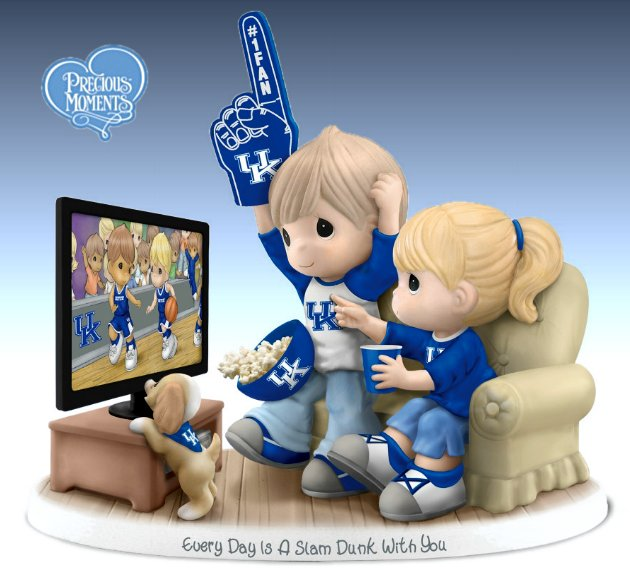 Every Day Is A Slam Dunk With You - Kentucky Wildcats Figurine