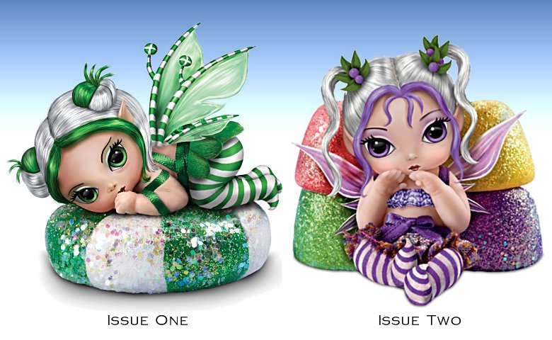 Fantasy Art Miniature Baby Fairy Doll Collection: Fairy Sweet Christmas
