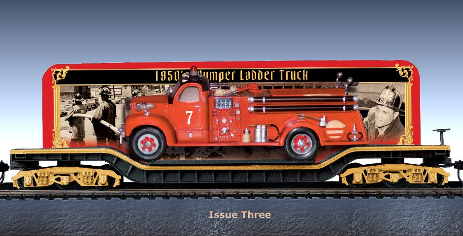 Fire Engines And Heroes Express Train Collection - Issue 3