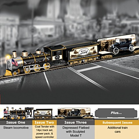 Ford Electric Train Collection: A Century Of Innovation Express