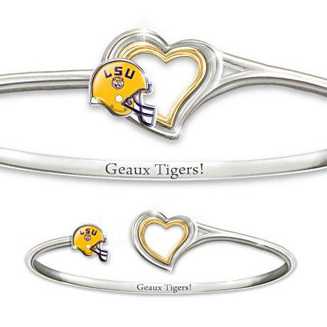 LSU Tigers Women's Bracelet: Geaux Tigers!
