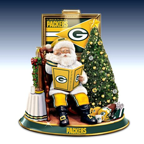 Green Bay Packers Snowman Plush Toy
