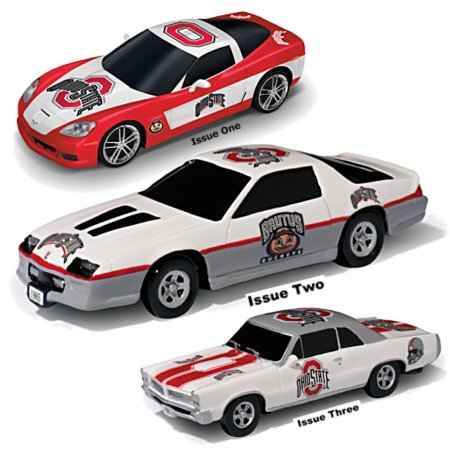 Sculptures: Heartbeat Of The Ohio State Buckeyes Muscle Car Sculpture Collection
