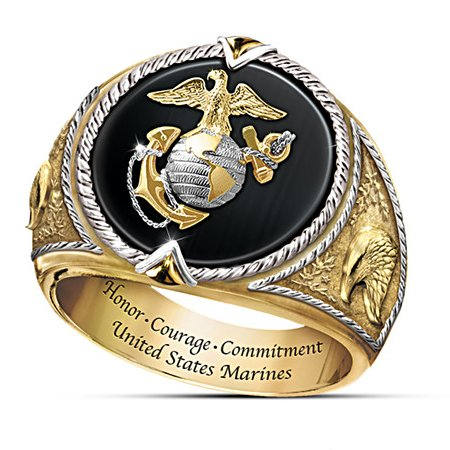 Men's Ring: Honor, Courage And Commitment Ring