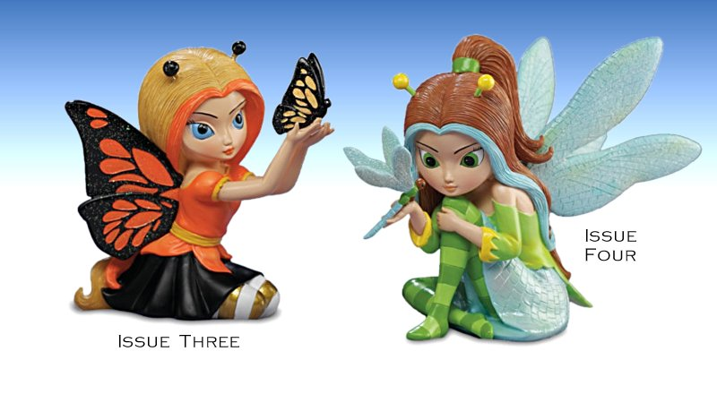 Jasmine Becket-Griffith - Cute As A Bug Fairy Figurine Collection - Issue 3 and 4