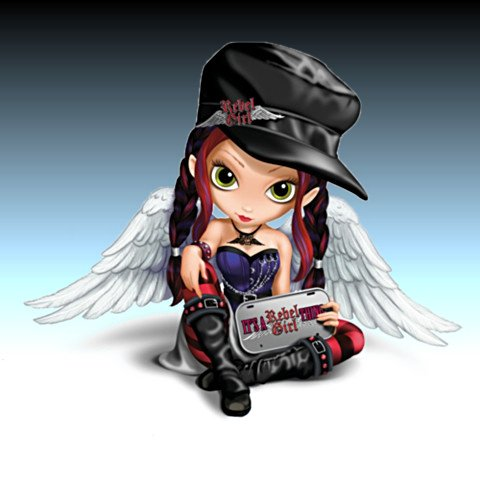 Jasmine Becket-Griffith It's A Rebel Girl Thing Figurine