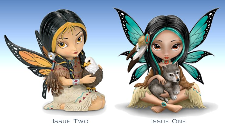 Jasmine Becket-Griffith's Spirit Maidens Fairy Figurine Collection - Issue 1 and 2