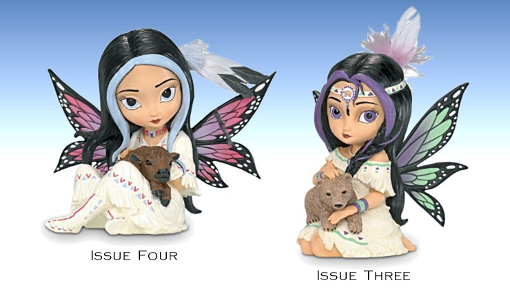Jasmine Becket-Griffith's Spirit Maidens Fairy Figurine Collection - Issue 3 and 4