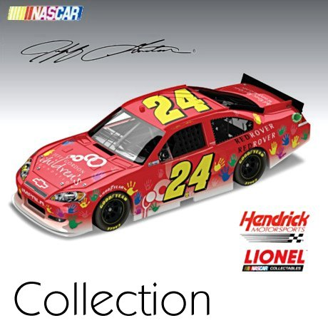 Jeff Gordon No. 24 Special Paint Scheme Diecast Car Collection - 1:24