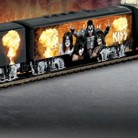 KISS Rock 'N Roll Express Diesel Train Collection - Issue Two