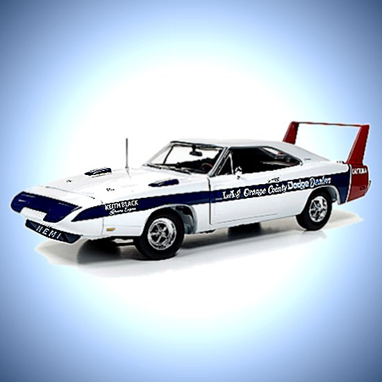 1:18-Scale Lucinda Cindy Lewis 1969 Dodge Daytona LA Diecast Car