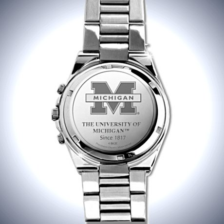 Men's Collector's Watch: Michigan Wolverines - Reverse