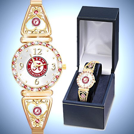 My Crimson Tide University Of Alabama Football Fans Women's Watch