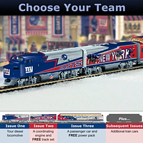 NFL Football Express Train Collection: NFL Memorabilia
