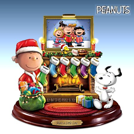 PEANUTS Share A Little Love Personalized Sculpture