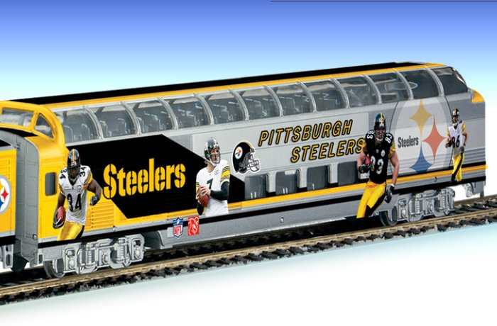 Pittsburgh Steelers Super Bowl Express Electric Train Collection