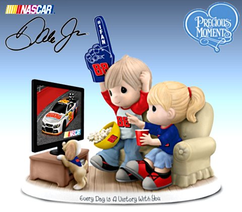Precious Moments Every Day Is A Victory With You Dale Earnhardt Jr. Figurine