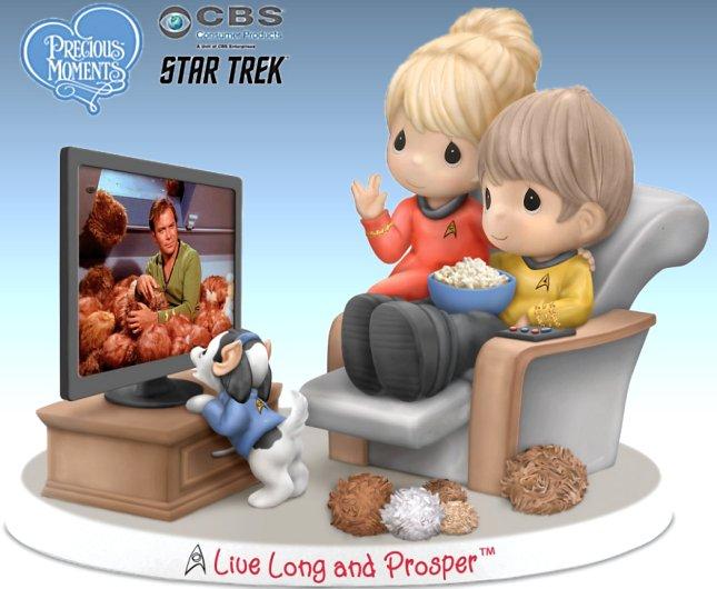 Precious Moments Live Long And Prosper STAR TREK Porcelain Figurine