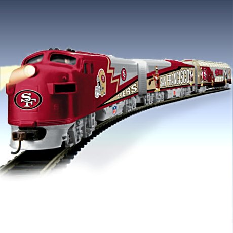 San Francisco 49ers Express Electric Train Collection
