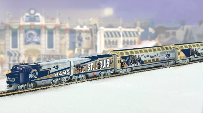 St. Louis Rams Express Electric Train Collection
