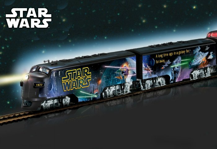 Star Wars Express Glow-In-The-Dark Train Collection