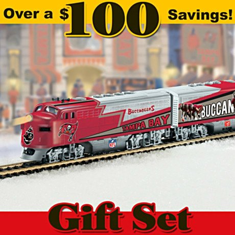 Tampa Bay Buccaneers Express Train Gift Set