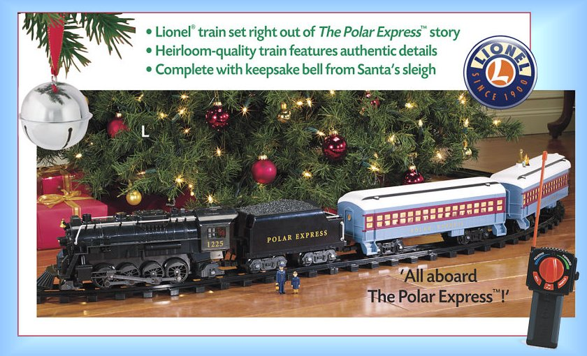 The Polar Express RC Lionel Train Set