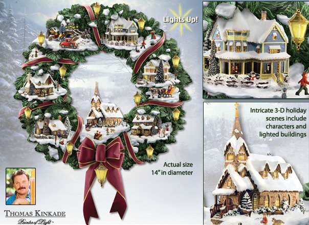 Thomas Kinkade Christmas Village Youtube Thomas Kinkade Twas The