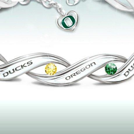 Women's Bracelet: University Of Oregon Pride Bracelet