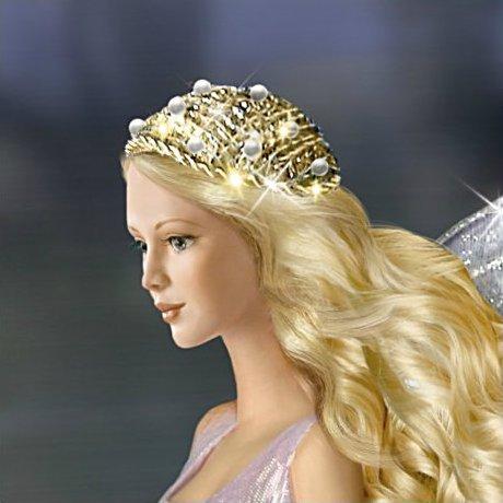 Fantasy Fairy Doll And Unicorn - fairy detail