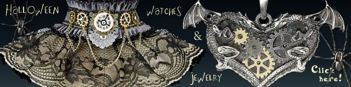 Halloween Jewelry and Watches