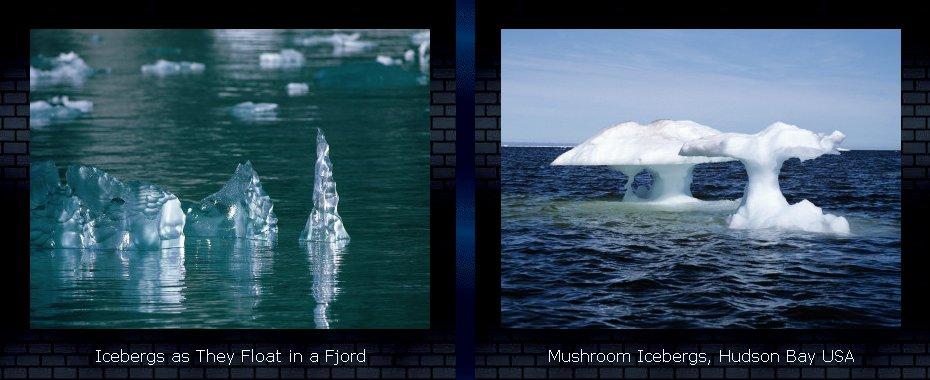 Icebergs - Photographic Prints