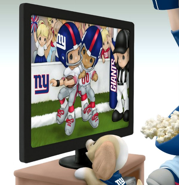 Precious Moments Every Day Is A Touchdown With You Giants Figurine