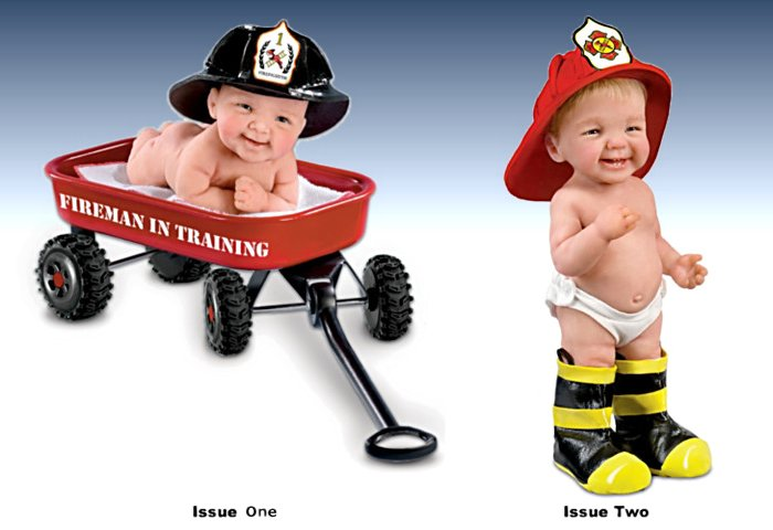 Fireman Baby Doll Collection: There's A New Chief In Town
