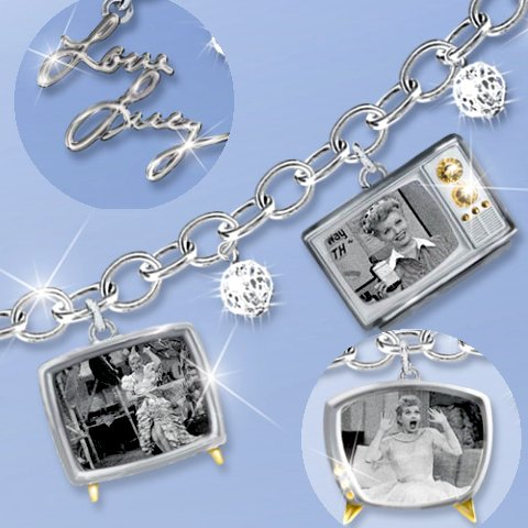 I LOVE LUCY Charm Bracelet - details