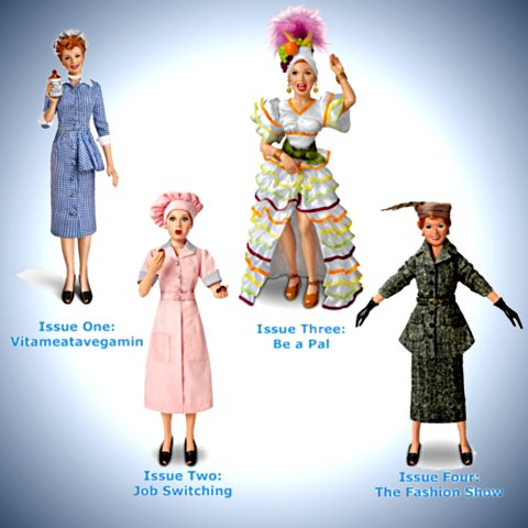 I LOVE LUCY Fashion Doll Collection Featuring Lucille Ball - Issues