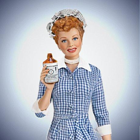 The Talking I LOVE LUCY Vitameatavegamin Fashion Doll