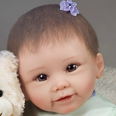 Lily And Gracie Bear Baby Doll - detail