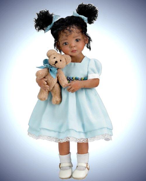 Jada And Teddy Child Doll