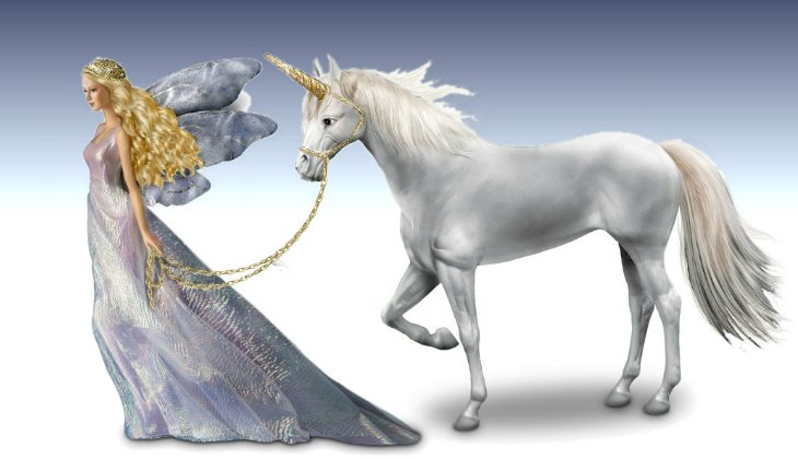 Trails Of Starlight Fantasy Fairy Doll And Unicorn