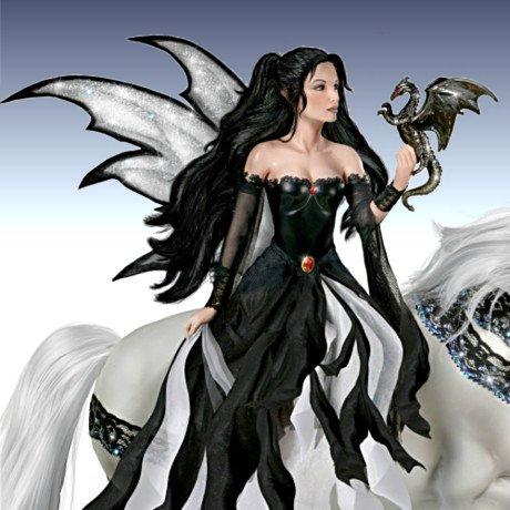 Nene Thomas Ice Princess Fantasy Doll - detail